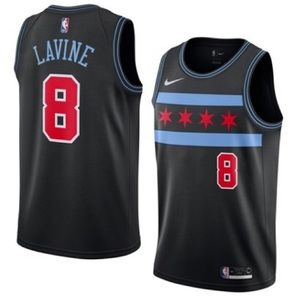 the best attitude 970d7 6ba58 Zach Lavine Chicago Bulls City Edition Jersey Boutique